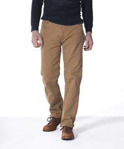 110LC - Men's Cotton 5 Pocket Jeans (Brown)