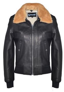 2605W - Women's Leather Bomber Jacke3t