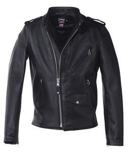 3d829b53e3610 603USA - Cafecto Steerhide Hybrid Cafe Racer Asymmetrical Leather  Motorcycle Jacket