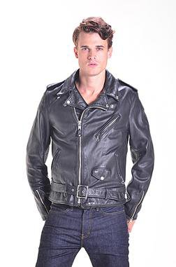 626VN Cowhide Leather Motorcycle Jacket