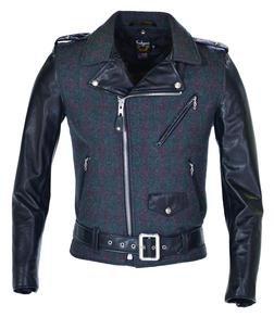 773UST - Wool-Genuine Cowhide Leather Jacket