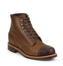 "M54TR - Chippewa Two Tone 6"" Tan Renegade / Cordovan Homestead Boot (Tan)"