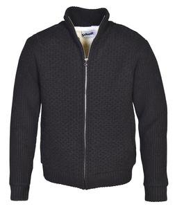 F1601 - Men's Zip Front Sweater Jacket