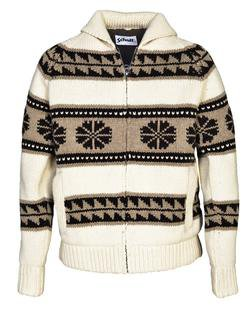 F1604 - Men's Sherpa Lined Sweater Jacket