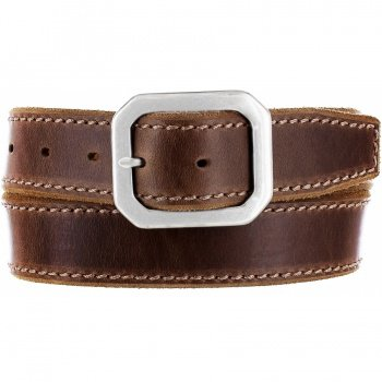 M70885 - Garrison Suede Belt (Brown)