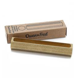 AOF4 - Brass Business Card Holder