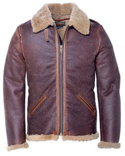 P25B6 - B-6 Sheepskin Bomber Jacket