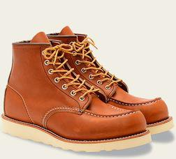"R0875 - Red Wing Men's 6"" Classic Moc Toe Boot"