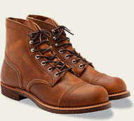 "R8085 - Red Wing Men's 6"" Iron Ranger Boot (Copper)"