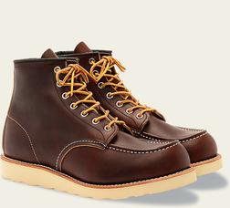 """R8138 - Red Wing Men's 6"""" Classic Moc Toe Boot"""