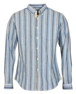 SH1423 - Slub Weave Striped Shirt