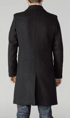 Style C729NE	Single Breasted Officer's Coat Navy