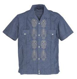 US5001 - Day of the Dead Embroidery Shirt