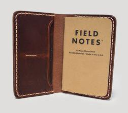 AM350 - Horween Leather Americana Note Case (Chestnut)