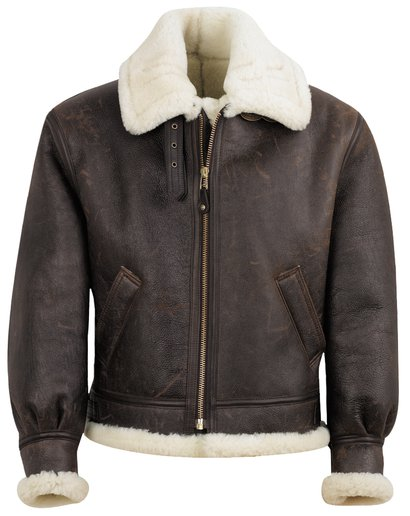 002d24e25477 WWII Leather Bomber Jacket - Schott NYC