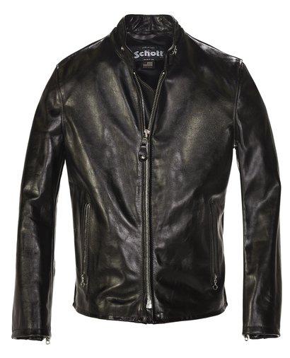 75eaebd9e901 654 - Cowhide Casual Racer Leather Jacket